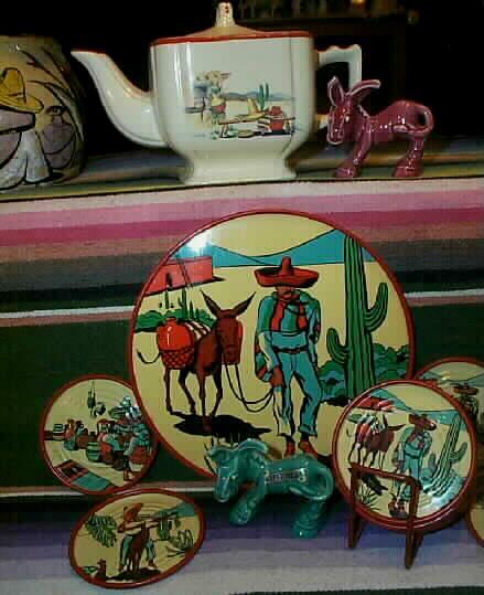 Hacienda Tea Pot~~A Great Mexican Go-along